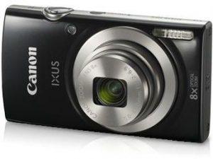 كاميرا بوينت اند شوت 20 ميجابكسل من كانون – اسود، Ixus 185