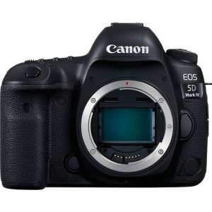 كانون اي او اس 5D Mark IV كاميار فقط – عدسة 30.4 ميجابيكسل، كاميرا دي اس ال ار، اسود