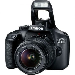 Canon EOS 4000D DSLR Camera With 18-55mm Lens – Black